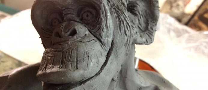 New Bonobo… and a creepin' kitty